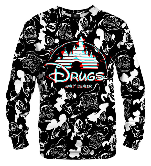 Black and white Walt Dealer sweater Thumbnail 2