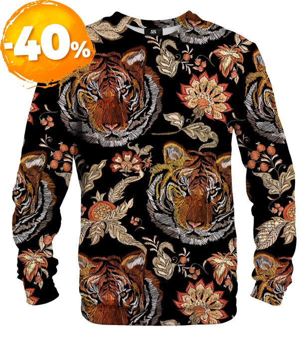 Tiger Pattern sweater Miniatura 1