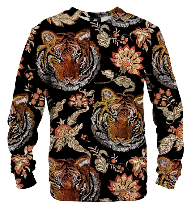 Tiger Pattern sweater Thumbnail 2
