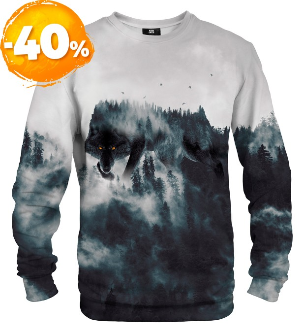 Wolf Forest Spirit sweater Thumbnail 1