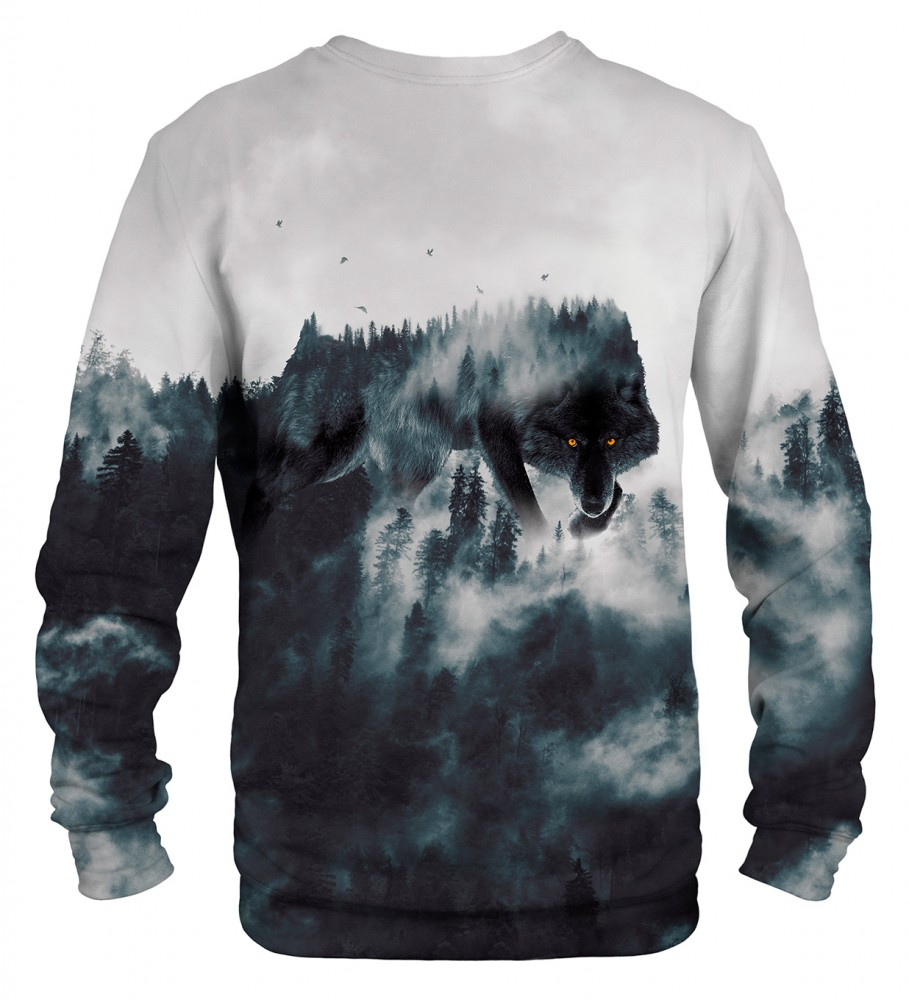 Mr. Gugu & Miss Go, Wolf Forest Spirit sweatshirt Foto $i