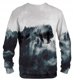 Mr. Gugu & Miss Go, Wolf Forest Spirit sweater Thumbnail $i