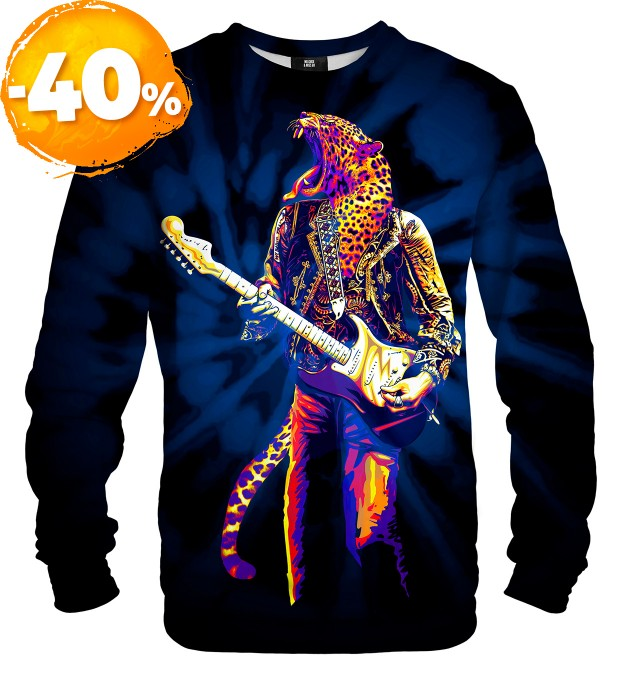 Panther Guitarist sweater Miniatura 1