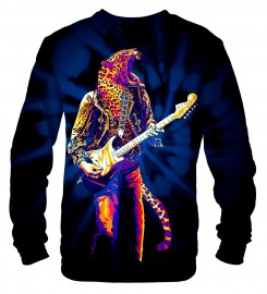 Mr. Gugu & Miss Go, Panther Guitarist sweater Miniatura $i
