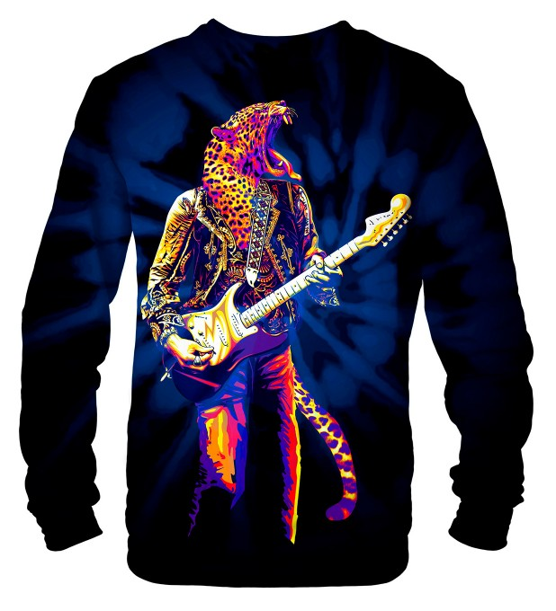 Panther Guitarist sweater Thumbnail 2