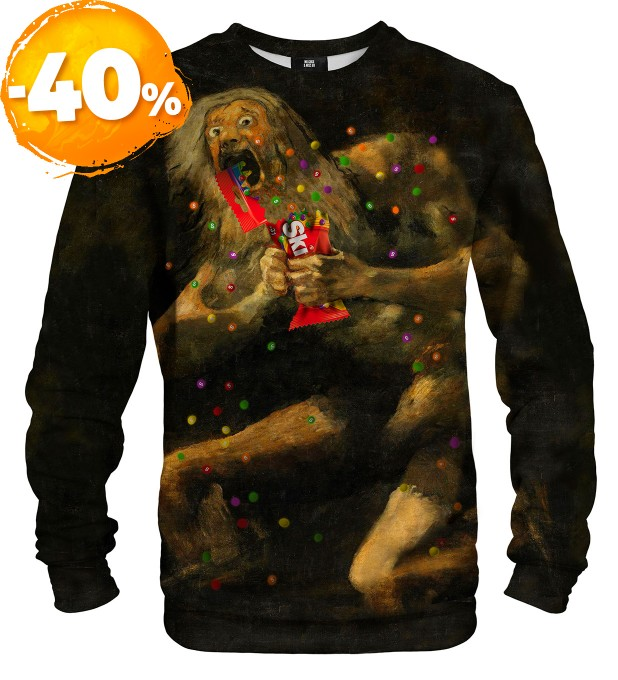 Saturn Devouring Skittles sweater Miniature 1