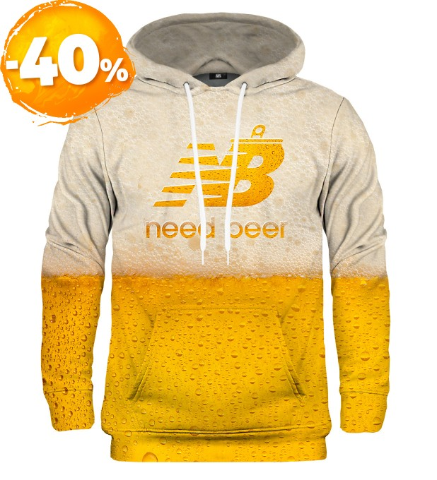 Bluza z kapturem Need Beer Miniatury 1