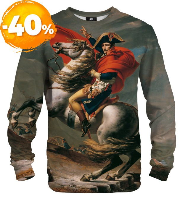 Napoleon Crossing the Alps sweatshirt Miniaturbild 1