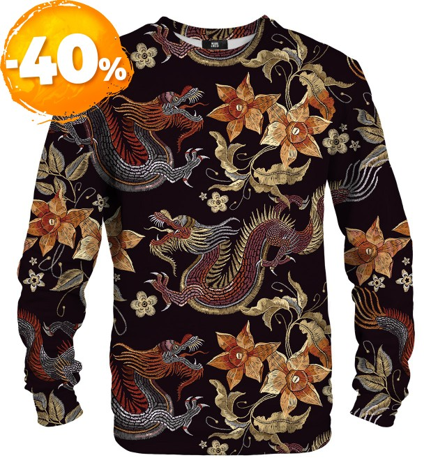Japanese Dragon sweater Thumbnail 1