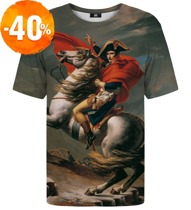 Napoleon Crossing the Alps t-shirt Miniatura 1