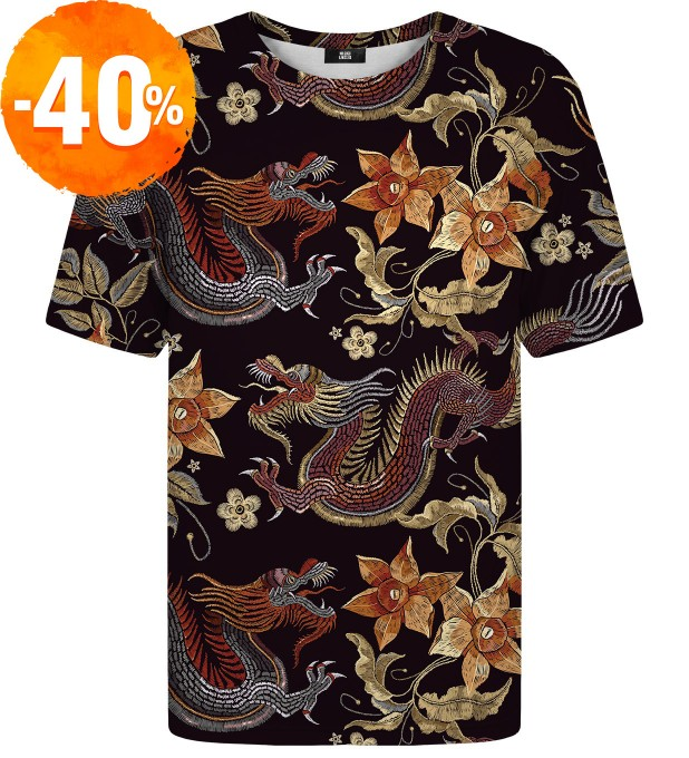 T-shirt Japanese Dragon Miniatury 1
