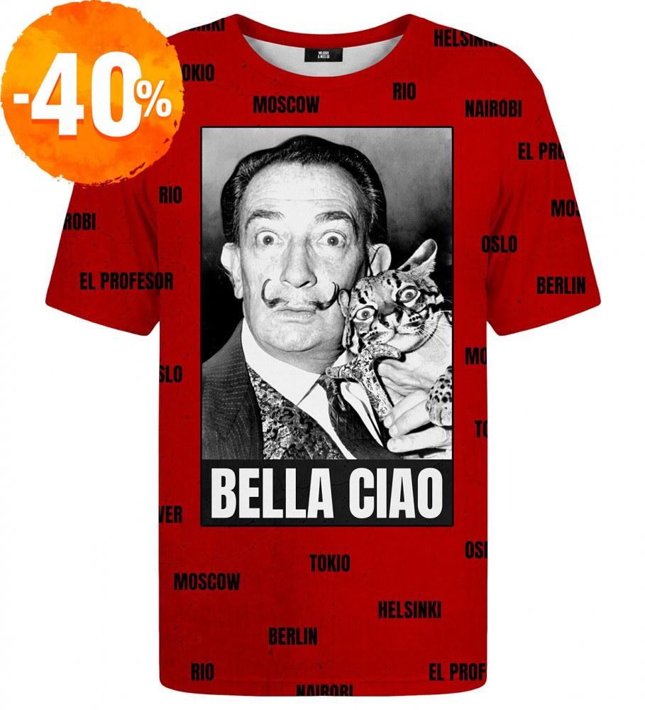 Mr. Gugu & Miss Go, Bella Ciao t-shirt Immagine $i