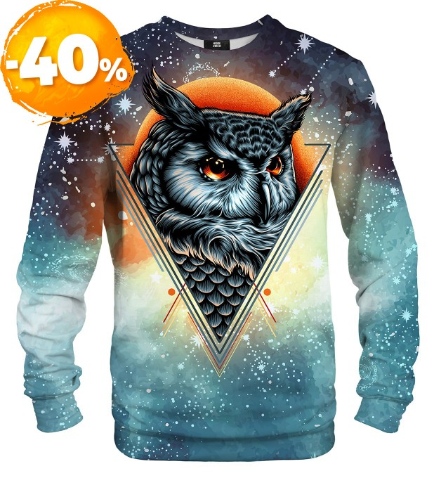 Owl Constellation sweatshirt Miniaturbild 1