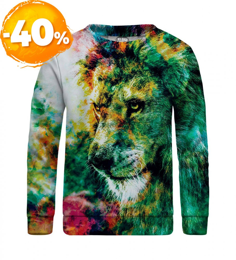 Mr. Gugu & Miss Go, King of Colors sweater for kids Image $i