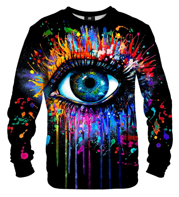 Black Fullprint sweater Miniatura 2