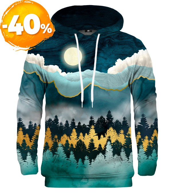 Gold Forest hoodie Miniatura 1
