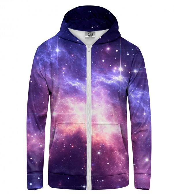 Lightning in Space Zip Up Hoodie Thumbnail 1