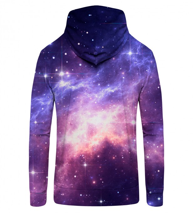 Lightning in Space Zip Up Hoodie Thumbnail 2