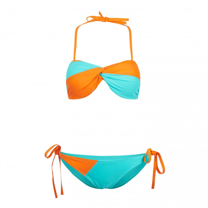 Mix n Match Color Block Bikini Thumbnail 1