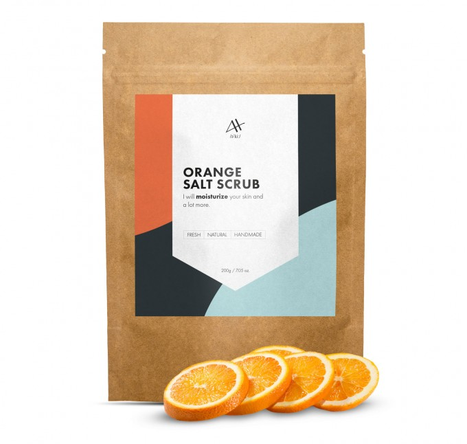 ORANGE SALT SCRUB 200G Thumbnail 1
