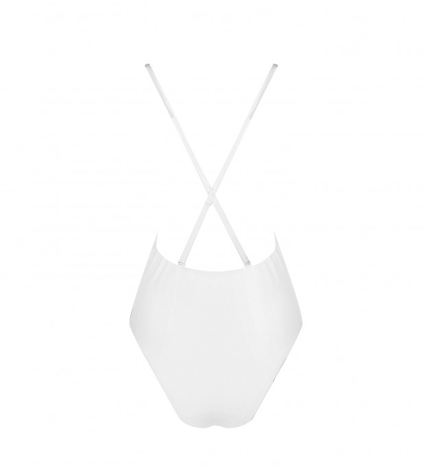 White Front straps One-piece  Thumbnail 2