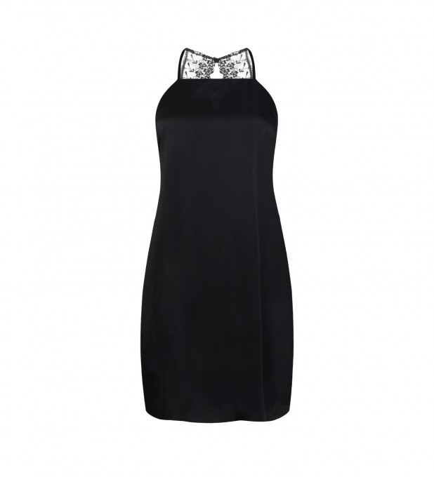 Black Renata Slip Dress Thumbnail 1