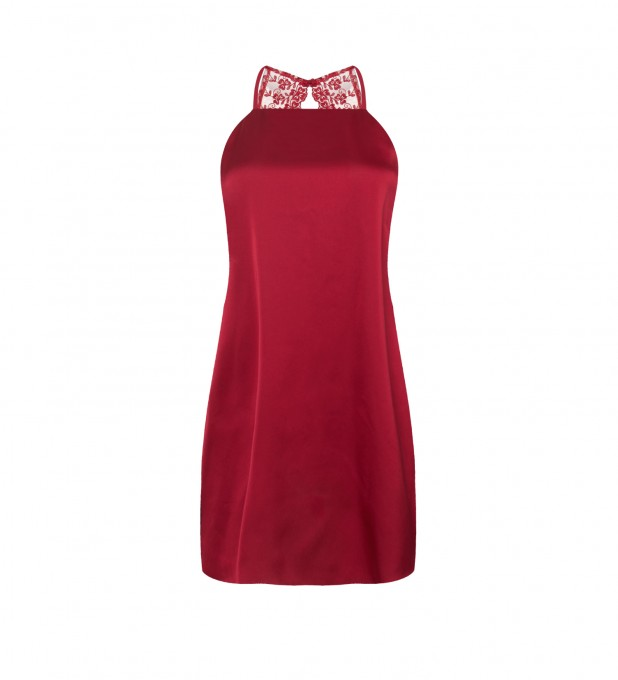 Red Renata Slip Dress Thumbnail 1