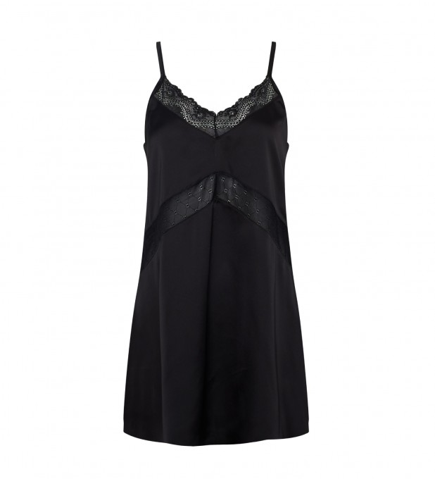 Krysia Black Slip Dress Thumbnail 1