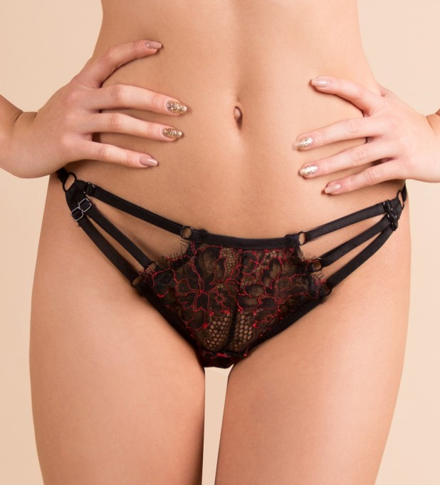 Red Antonia Knicker Thumbnail 1