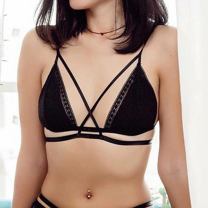 Black Angel Bralette Thumbnail 2